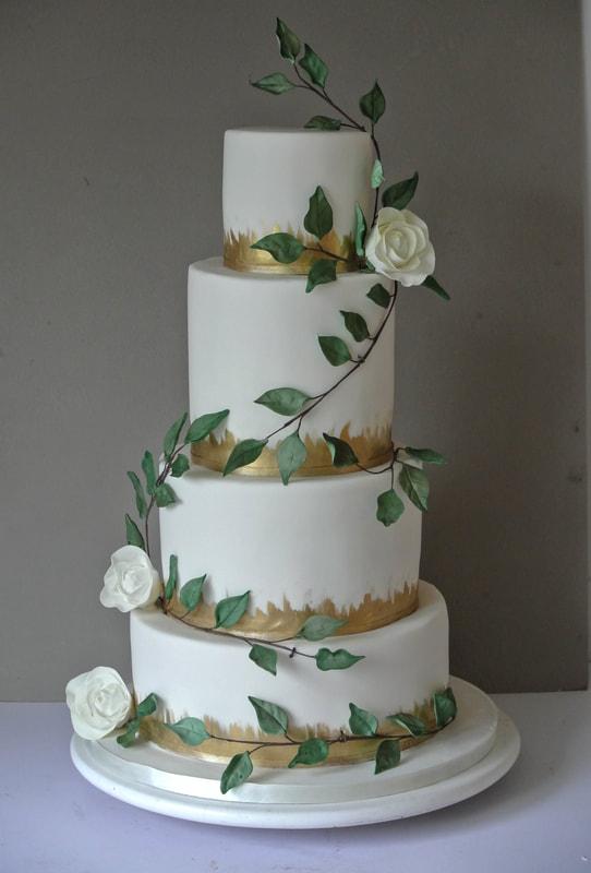 Sugar Rose Cake