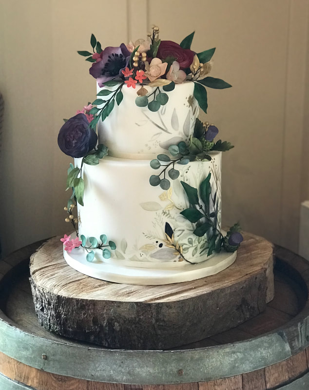 Happyhills Cakes Creative Indulgent Handmade Wedding