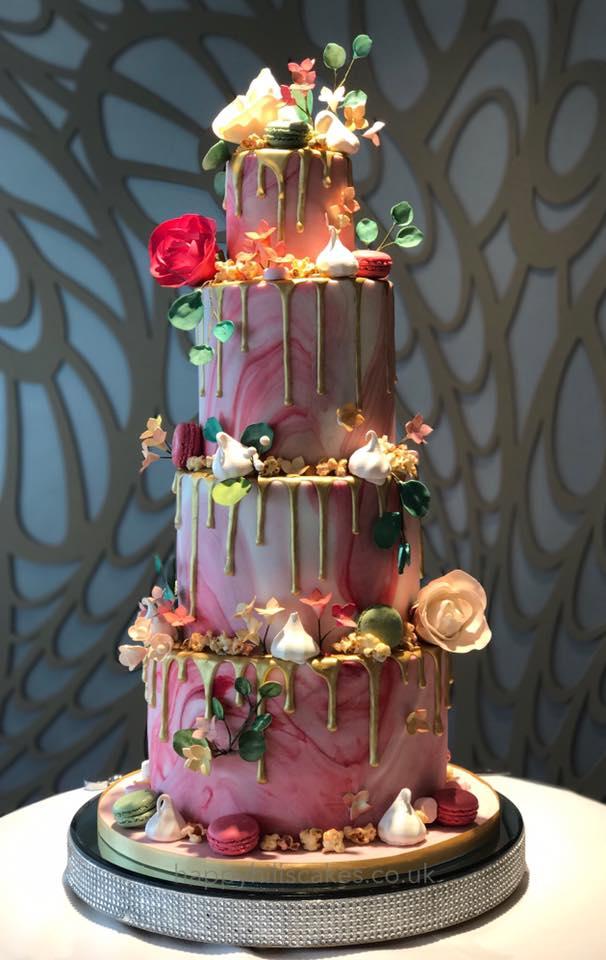 Happyhills Cakes Creative Indulgent Handmade Wedding